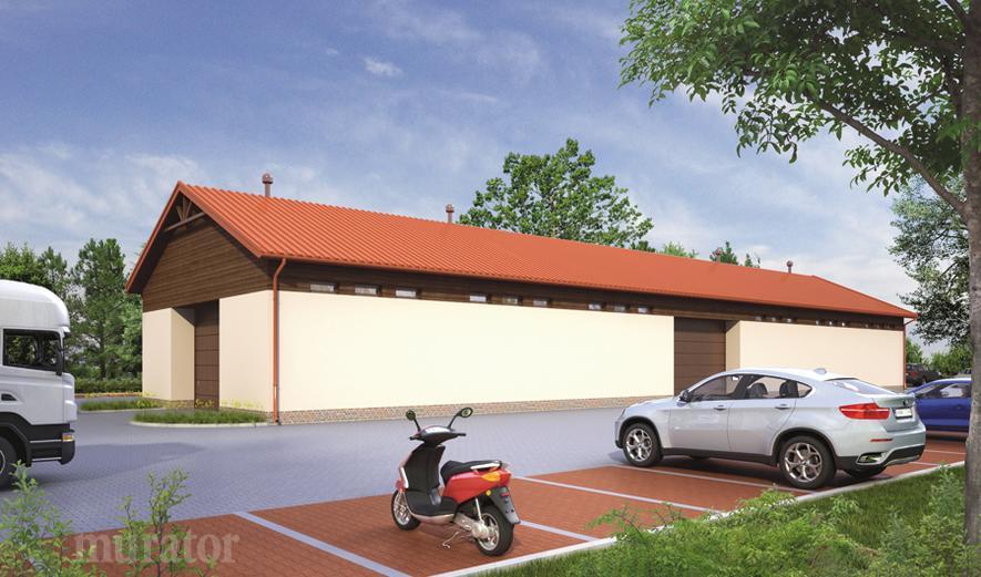 GMC26 Budynek garażowo-magazynowy